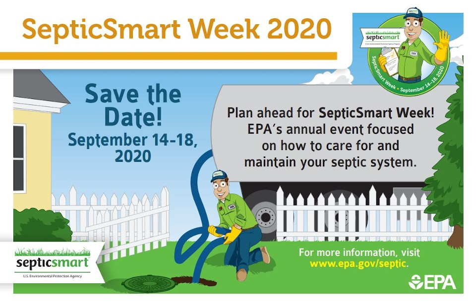 Save The Date! SepticSmart Week 2020